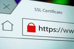 Screenshot eines Browsers mit SSL Verbindung