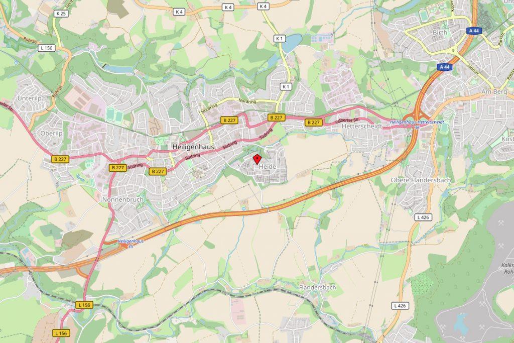 Karte von OSM