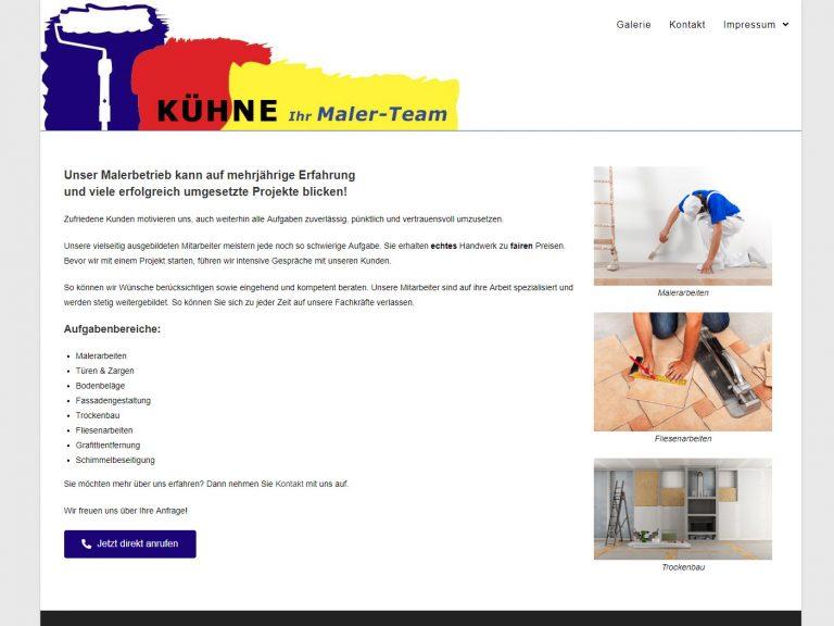 Webseite Malerbetrieb